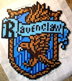 Ravenclaw crest - Harry Potter hama beads by Lywen64