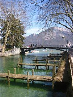 Annecy, le pont des amours