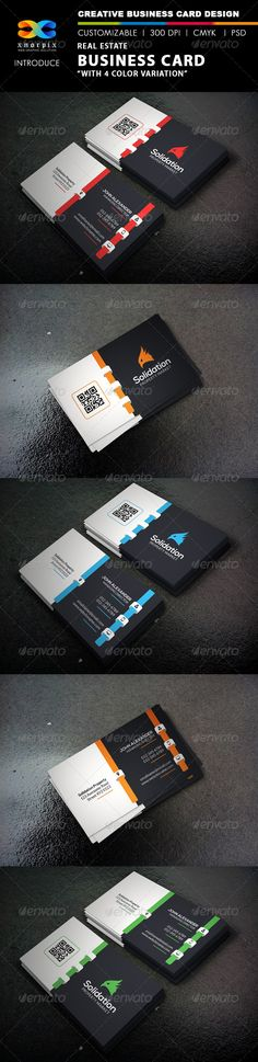 Buy Real Estate Business Card by -axnorpix on GraphicRiver. Minimal Business Card, Business Card Design, Blue Building, Real Estate Business Cards, Print Templates, Landscape Design, Scale, Photoshop, Graphic Design