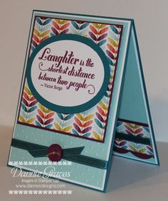 Laughter by DannieGrvs - Cards and Paper Crafts at Splitcoaststampers