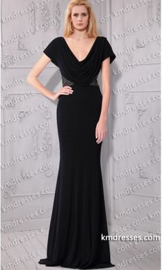 Draped cowl neckline V-back Cap sleeves Bias-cut full-length gown.prom dresses,formal dresses,ball gown,homecoming dresses,party dress,evening dresses,sequin dresses,cocktail dresses,graduation dresses,formal gowns,prom gown,evening gown.