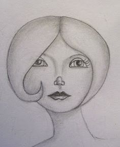 Harmony Road Studio: It's a little bit sketchy Todays Weather, Learn To Draw, Face Art, Art Girl, Whimsical, Faces, Sketches, Studio, Drawings