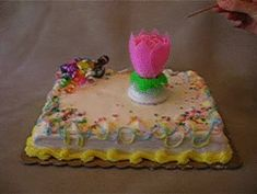Lotus Birthday Candle in action! 3 candles for $19.95