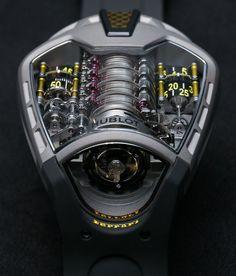 Hublot MP-05 LaFerrari Ferrari Titanium Yellow https://www.youtube.com/watch?feature=player_embedded&v=9Xk25FYOh3c