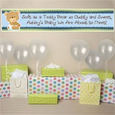 Baby Shower Banner Cute Saying