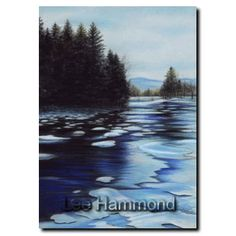 New Hampshire Snowy River by Lee Hammond