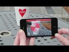 The chain has updated its Cup Magic iPhone and Android app from the holidays with a Valentine's Day twist: If you have the app and put the cups within your phone's field of vision, your phone will display images of heart-shaped flower petals flying off the cup. You can also send a video of the scene to your beloved via email or Facebook.