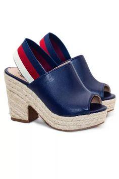 b8c50b6de Sapato Casual, Anabela, Marinha, Sapatos, Amor Vintage, Botas E Sapatos,