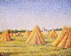The Harvest - Charles Angrand - The Athenaeum