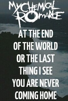 Ghost Of You - My Chemical Romance