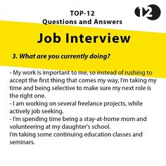 Job Interview Questions Part 5 Job Interview Preparation, Interview Skills, Interview Questions And Answers, Job Interview Tips, Job Interviews, Job Resume, Resume Tips, Resume Help, Resume Skills