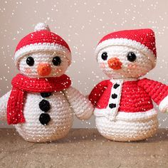 Snowmen - Christmas Patterns. Amigurumi PDF, Snowman Toy, Cute Children Gift, Crochet Decor, Nursery Doll, DIY, Winter Crafts, Digital File