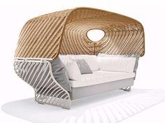 TIGMI Iglu-förmiges Sofa Kollektion Tigmi by Dedon Design Jean-Marie Massaud
