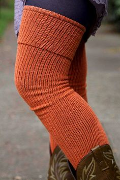 Long Cuffable Scrunchable Socks