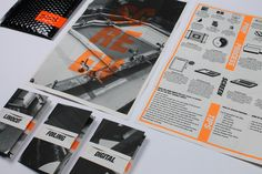 The brief was to create an info pack surrounding the idea of designing for Print.