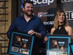 """Chris Young and Cassadee Pope Share Heartfelt Sentiments in Celebration of No. 1 Song """"Think of You"""""""