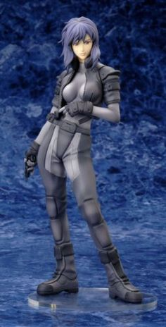 Amazon.com: Ghost In The Shell S.A.C. 2nd GIG Motoko Kusanagi 1/7 Scale PVC: Toys & Games