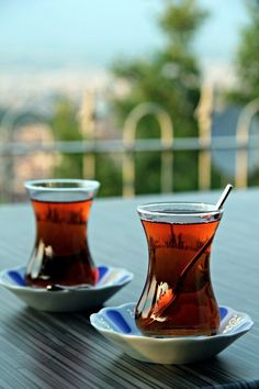 Tea is drunken often in Turkey, especially during breakfast since it is considered a requirement. Turks also drink tea during dusk, which is a western tradition that has been accommodated in cities.