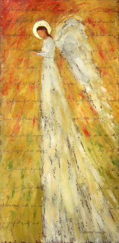 Maleri med engle