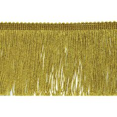 flag gold fringe