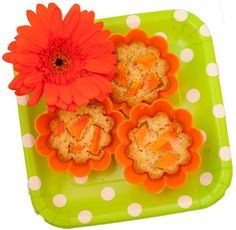 Papaya mini cakes - papaya makes'm sweet.