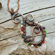 Hey, I found this really awesome Etsy listing at https://www.etsy.com/listing/237209141/wire-wrapped-paisley-pendant-necklace-of