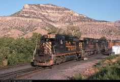 RailPictures.Net Photo: D&RGW 3094 Denver & Rio Grande Western Railroad EMD GP40-2 at Helper, Utah by David Giglio