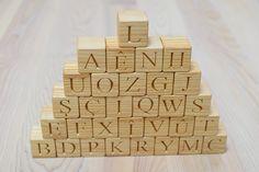Melissa /& Doug ABC Alphabet Letter Blocks Cargo Truck Wooden Kids Toy Education