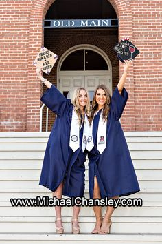 Fun College Senior Graduation Grad portrait photo ideas at Tucson The University of Arizona campus in Tucson AZ Arizona taken by Michael Chansley Photography Cap and Gown college Old Main Fountain group sorority friends guys girls UofA High School group girl guy pose poses photographer idea ideas bottles of champagne sexy hot model cap and gown