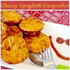 These bite-sized spaghetti cups are pefect for little hands and only require 4-ingredients, making them a great after-school snack idea! = I haven't made these and couldn't watch the video to check out the recipe, but this could be a good make ahead after school snack.