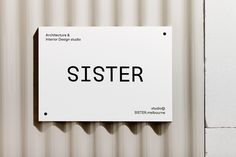 Brand Identity for Sister by Mildred & Duck