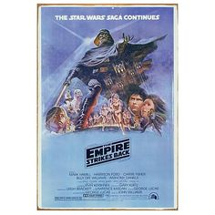 Love this version of The Empire Strikes Back poster!