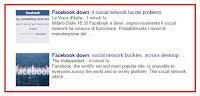 Facebook down! Il tempo di scrivere questo articolo sarà stato sufficiente a farlo resuscitare?