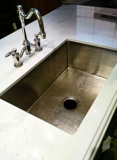 Nice Annapolis Bridge Faucet 6200 With A Native Trails Cocina 33 Sink In Brushed  Hammered Nickel.