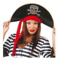 Sombrero de Pirata #sombrerosdisfraz #accesoriosdisfraz #accesoriosphotocall