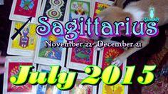 Sagittarius July 2015 Intuitive Astrology & Tarot Reading by Mystic GLoLady