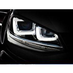 VW Golf Mk7 R Headlights