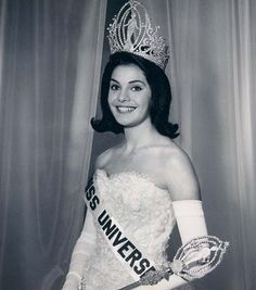Miss Universo 1963 Ieda Maria Vargas Brazil