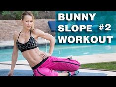 Bunny Slope Workout #2 - another workout for total beginners - YouTube