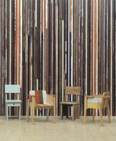 Scrapwood Wallpaper 2 by NLXL & Piet Hein Eek