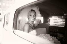 vintage wedding pose