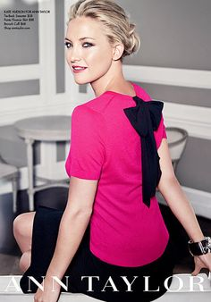 #KateHudson Models #AnnTaylor's Fall Collection http://news.instyle.com/photo-gallery/?postgallery=124022#3