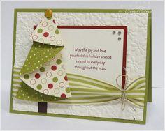Roundup: 9 сложенный лист бумаги Рождественская елка Рождественская открытка учебники »Curbly | DIY Дизайн & Декор