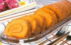 Receita de Torta de Cenoura com Laranja   Doces Regionais