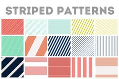 Repeating Stripe Images & Patterns by Angie Makes