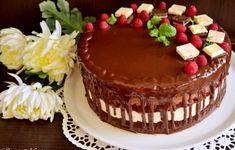 Tort Fantezie cu ciocolată și zmeură - Rețete Merișor
