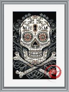 """Premium counted cross stitch chart (This is NOT a kit, floss and fabric NOT included).    Stitches: 236w x 238h Finished Size :18 count: 13.11"""""""
