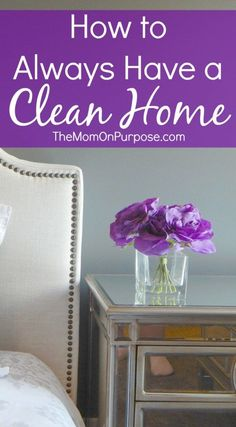 Do you struggle to keep a clean home? These 5 tips just might be what you need to create a routine that works for you once and for all!