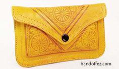 Fez Mustard Clutch/Wallet