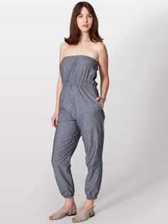 American Apparel's Chambray Jumpsuit (may be the most comfortable thing I've ever owned)
